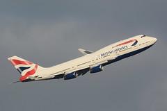 G-BYGB Boeing B747-436 EGLL 14-12-18 (MarkP51) Tags: gbygb boeing b747436 b747 jumbojet britishairways ba baw london heathrow airport lhr egll england airliner aircraft airplane plane image markp51 nikon d7100 sunshine sunny aviationphotography nikon200500f56vr planeporn