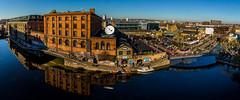 Camden Lock Panorama (Warren Brendan McCann) Tags: camdentown camden camdenlock canon canong1x london panorama grandunioncanal canal