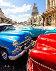 The Classics (Havana, Cuba 2019) (Alex Stoen) Tags: alexstoenphotography canoneos1dx capitolio cars classic cuba havana travel vintage wideangle classiccars creativecomposition icons tourism