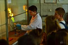 Happy Pi Day 2019! (ChemiQ81) Tags: chemistry chemia laboratory lab laboratorium polska poland polen polish polsko pologne polonia pi day święto liczby pokazy show chem chemiq chemical chemiczny eksperyment experiment doświadczenie chemie 2019 indoor flame katowice uś