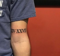Luke Baxter - Black 13 Tattoo