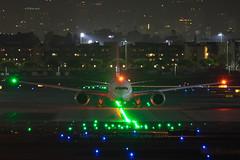 Qantas (QF16_ (Martijn Groen) Tags: losangeles elsegundo california unitedstates usa april 2019 airport night aircraft airplane airline boeing boeing787 dreamliner qantas lax klax