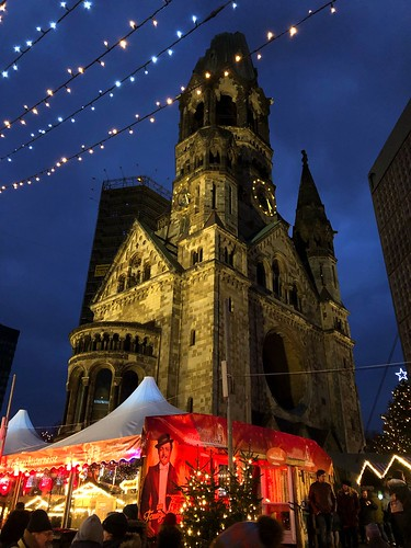 Christmas Impressions of Breitscheidplatz - Kaiser Wilhelm Memorial Church