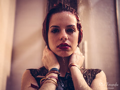 (paulfotografia) Tags: sexy ducha boudoir chica agua mojada pelirroja