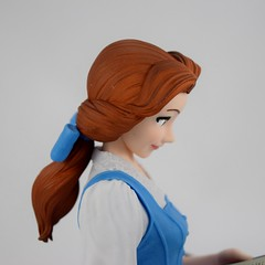 EXQ-starry Belle Figure By Banpresto - Deboxed - Portrait Left Side View (drj1828) Tags: exqstarry 85inch 220mm blue princess belle banpresto vinyl figure purchase beautyandthebeast animated disney crane claw prize deboxed