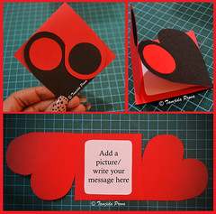 Chinese Yin & Yang Inspired Greeting Card (tamjida_prova) Tags: handmade card heartcard crafting greetingcard cardforvalentinesdays yinyangcard chinese