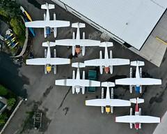 Seaplane Yard (otterdrivernw) Tags: skywagon c185 c180 cessna180 cessna mavic2pro mavic dji dronephoto drone aerialphotography aerials aerial airplanes airplane floatplanes seaplanes floatplane seaplane