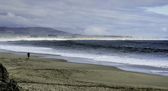 Low tide at Miramar Beach, Half Moon Bay California (Gail K E) Tags: california halfmoonbay pacificocean beach sanfrancisco scenic solitary coastline westcoast usa