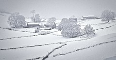 Tideswell Derbyshire 30th January 2019 (loose_grip_99) Tags: tideswell derbyshire midlands england uk snow winter landscape farm fields trees january 2019 almostanything