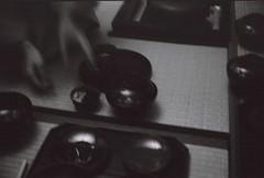 282 (Kath Doroshyna) Tags: 35mm filmphoto bw monochrome utensil tea ceremony