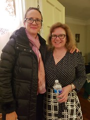Catherine And Sue At The New Year's Eve Party (Joe Shlabotnik) Tags: cameraphone december2018 galaxys9 catherine sue 2018