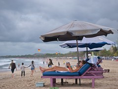 Legian (jperthllave) Tags: kuta legian seminyak beachfront beach indonesia bali 425mm lumixg425mmf17 lumix panasonic travel cloudy