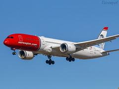 LN-LNP Boeing 787 Norwegian (@Eurospot) Tags: lnlnp boeing 787 norwegian lebl barcelone 7879