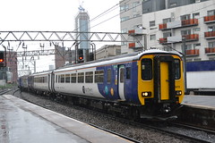 Northern Super Sprinter 156472 (Will Swain) Tags: station 20th september 2018 greater manchester city centre north west train trains rail railway railways transport travel uk britain vehicle vehicles england english europe bolton northern super sprinter 156472 class 156 472