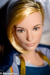 Doctor Who Barbie (Chris & Lio) Tags: barbie collector muñeca signature 2018 doll doctor who blond comic con san diego exclusive