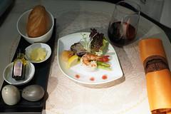 EVA Air Meal (Luke Lai) Tags: br evaair evaairways 長榮航空 businessclass planefood