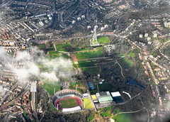 Crystal Palace (M McBey) Tags: crystalpalace london tower film aerial city