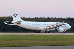 Airbus A330-203 - SU-TCH - HAJ - 07.04.2019(2) (Matthias Schichta) Tags: haj hannoverlangenhagen eddv planespotting flugzeugbilder flugzeug airbus a330200 sutch almasriaairlines
