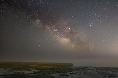 She's Always There (Douglas Heusser Photography) Tags: ocean galaxy milky way astrophotography cosmos star stars universe nj new jersey night sky astro beach tuckerton shore planet landscape heusser photo photography astronomy rokinon 14mm wide angle long exposure canon