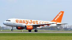 Airbus A319-111 c/n 3036 Easyjet registration OE-LKN (sirgunho) Tags: amsterdam airport schiphol aircraft jetliner airbus a319111 cn 3036 easyjet registration oelkn