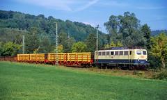 140 323 | 1998-09-23 (Thomas J. Konz) Tags: 140 e40 db heigenbrücken güterzug spessart