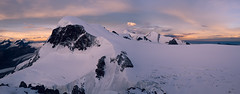 """Breithorn Sunset"" (Marcus Blank Photography) Tags: breithorn schweiz suisse switzerland sunset sonnenuntergang snow mountain climbing glacier clouds bluesky sun colors magic leicaq leica q summilux28mm f17 primelense marcusblankphotography flickraddicted macbookpro panorama photoshop lightroom landscape beauty nature wildlife stunning landscapephotography svizzera stone rock mountaineering kleinmatterhorn view dinner zermatt breithornplateau castor pollux italy alpen alps"