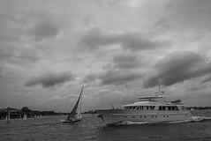 DSC00608 (Damir Govorcin Photography) Tags: boats sky clouds sony a7rii zeiss 1635mm monochrome blackwhite