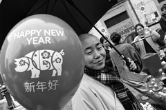 (Year of The Pig) (Robbie McIntosh) Tags: leicam9p leica m9p rangefinder streetphotography 35mm leicam autaut candid strangers leicaelmarit28mmf28iii elmarit28mmf28iii elmarit 28mm blackandwhite chinesenewyear chinese yearofthepig napoli naples
