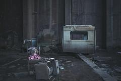 Miss Piggy (Some Place Only We Know) Tags: urbex piggy schwein stofftier abandoned lost decay verfall vergessen wohnwagen caravan