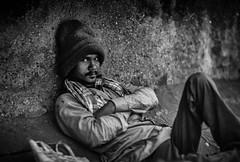 Mumbai (XLVI) (manuela.martin) Tags: bw blackandwhite schwarzundweis streetphotography mumbai india foreignpeople people peoplephotography