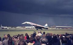 G-AXDN. BAC/Sud Concorde (Ayronautica) Tags: ayronautica aviation scanned farnborough eglf fab sbac airshow sst bacsudconcorde prototype airliner gaxdn