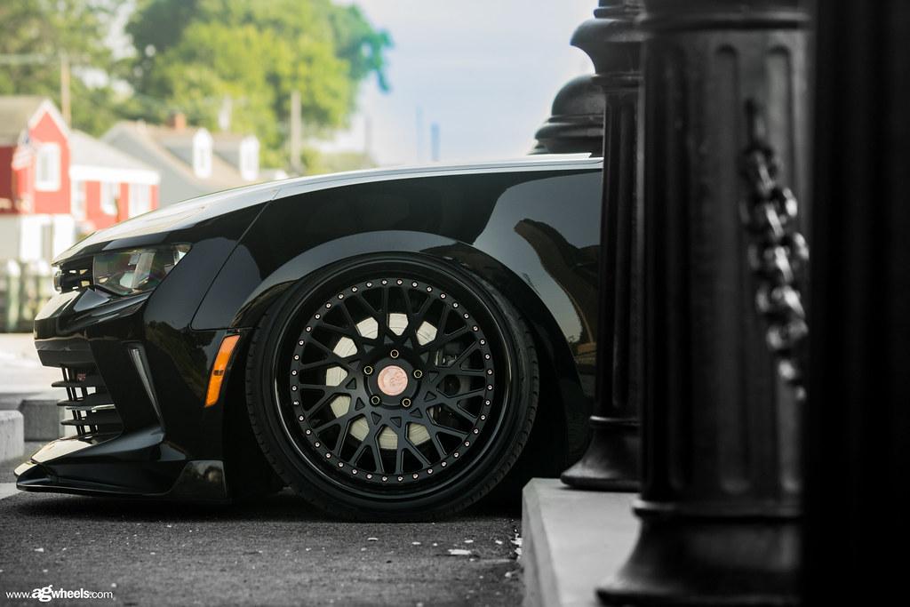 Chevrolet Camaro - F542 Matte Black