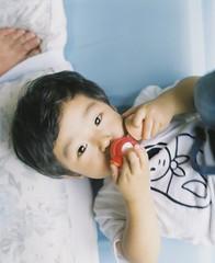 Last summer (Yuki Ishikawa Photography) Tags: pentax67 summer toddler filmphotography 6x7 mediumformat 中判カメラ 中判フィルム バケペン ペンタックス