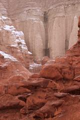 Wild Horse Butte Goblins (arbyreed) Tags: arbyreed snow snowing mist atmospheric goblinvalley emerycountyutah redrock hoodoos winter explore