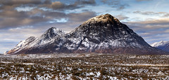 The adventure has begun. (lawrencecornell25) Tags: landscape scenery scotland scottishhighlands highlands mountain buachailleetivemor snow winter outdoors nature nikond5
