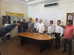 Toma protesta nuestro coordinador Heliodoro_hcde al Consejo Municipal de Protección Civil que encabeza el presidente, Cástulo Bretón Mendoza, cumpliendo de esta manera con la Ley de Protección Civil y Gestión Integral de Ri
