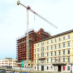 Arduino Berlam, Palazzo Aedes, 1926-28 (under renovation since 2017), Trieste (fabioomero) Tags: arduino berlam aedes trieste triest trst
