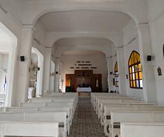 The Panoramas - Interior of Santa Rosa de Lima in Ranchuelo (lezumbalaberenjena) Tags: panorama panoramic cuba lezumbalaberenjena 2019 ranchuelo villas villa clara