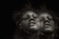 2 Faced (Evoljo) Tags: themuseumofwitchcraftandmagic boscastle heads cornwall nikon face hair eyes d500