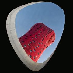 hotel porta fira (zecaruso) Tags: toyoito barça bcn barcelona architettura architecture hotel lhospitaletdellobregat grattacielo rascacielos skyscraper nikond300 zecaruso zeca ze ze² zequadro cicciocaruso