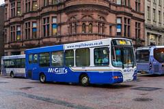 McGill's, Greenock 5952 YJ54CKK (busmanscotland) Tags: mcgills greenock 5952 yj54ckk yj54 cck daf sb120 wright cadet arriva scotland west 1952