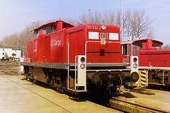 DB 290032-2 (bobbyblack51) Tags: db class 290 v90 mak bb heavy diesel shunter 2900322 v90032 bw koln gremberg 1998