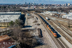 BNSF 8579 | EMD SD70ACe | BNSF Thayer South Subdivision (M.J. Scanlon) Tags: bnsf8579 bnsf9460 bnsfrailway bnsfthayersouthsubdivision business capture cargo commerce dji digital drone emd engine freight horsepower landscape locomotive logistics mjscanlon mjscanlonphotography mavik2 mavik2zoom memphis merchandise mojo move outdoor outdoors photograph photographer picture quadcopter rail railfan railfanning railroad railroader railway sd70ace sd70mac scanlon super tennessee track train trains transport transportation wow ©mjscanlon ©mjscanlonphotography