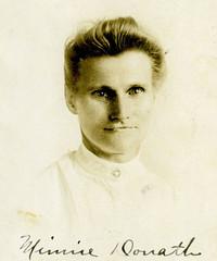 1918 - Minnie [Schmidt] Donath