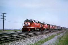 CB&Q GP30 953 (Chuck Zeiler48Q) Tags: cbq gp30 953 burlington railroad emd locomotive naperville train chuckzeiler chz