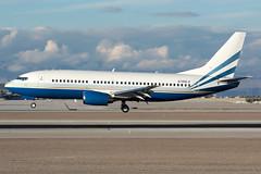 Private N789LS (Drewski2112) Tags: las vegas international airport klas boeing 737 737300 b733 n789ls