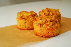 2019.02.08 Low Carbohydrate, Healthy Fat Pumpkin Muffins with Cream Cheese Filling, Washington, DC USA 09765