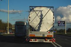 Truck from Belarus & Irizar bus from Spain (rvandermaar) Tags: truck belarus lorry