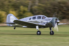 Spartan 7W Executive - 04 (NickJ 1972) Tags: shuttleworth collection oldwarden race day airshow 2018 aviation spartan 7w executive n17633