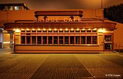 The Bridge Cafe (pandt) Tags: bridge cafe goldengate deserted night eerie outdoor late lights dark bricks building architecture canon eos slr t1i sanfrancisco california